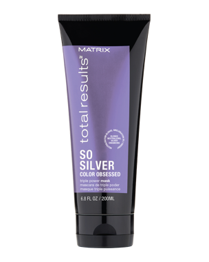 Total Results Color Obsessed So Silver Masque 150ml