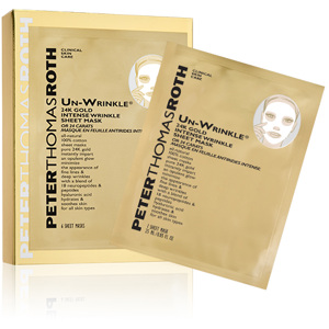 Un-Wrinkle 24K Gold Sheet Mask 6 Sheets
