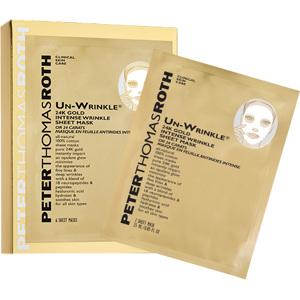 Un-Wrinkle 24K Gold Sheet Mask 6 Sheets