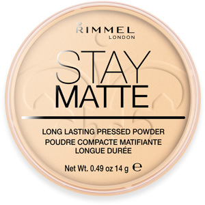 Stay Matte Long Lasting Powder, 001 Transparent
