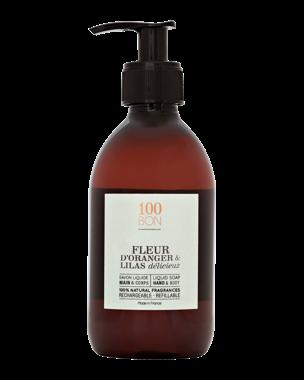 Fleur d'Oranger & Lilas Delicieux Liquid Soap, 300ml