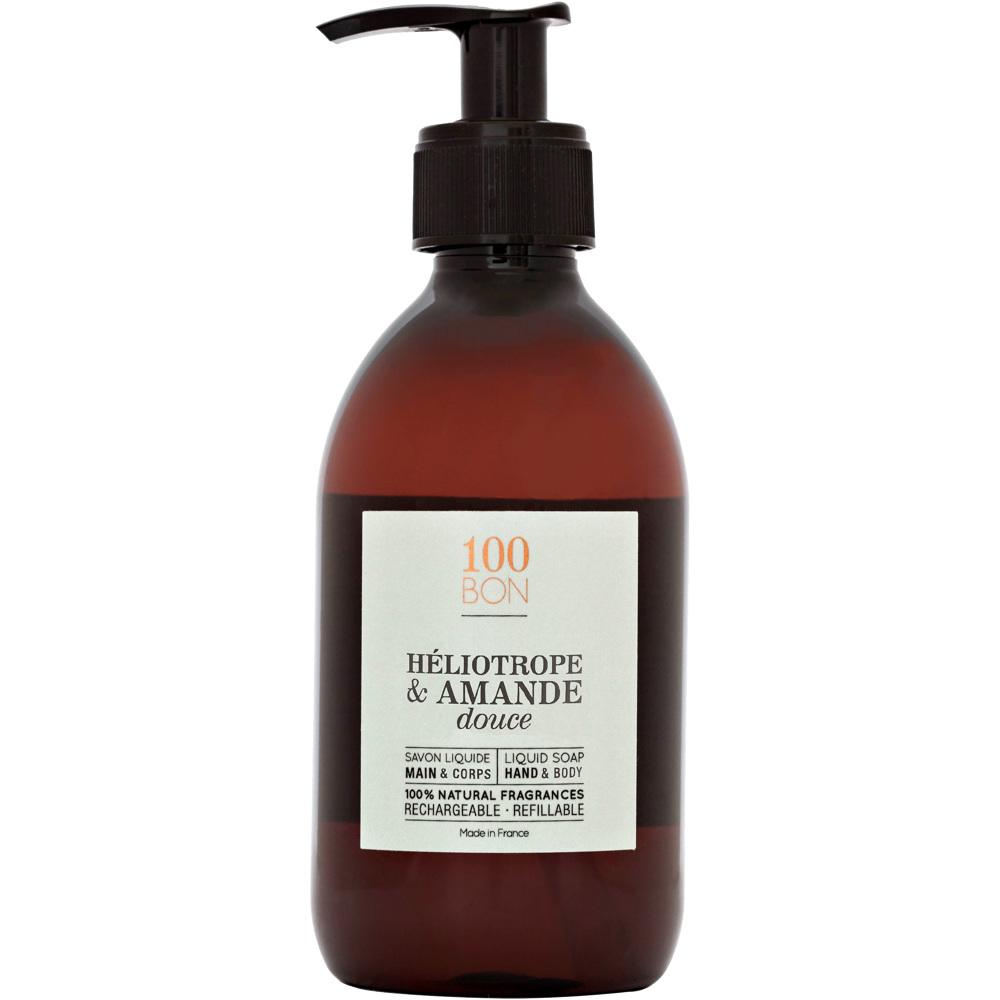 Heliotrope & Amande Douce Liquid Soap, 300ml