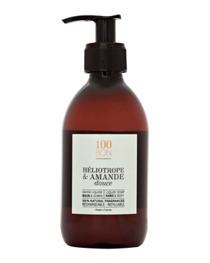 Heliotrope & Amande Douce Liquid Soap, 300ml