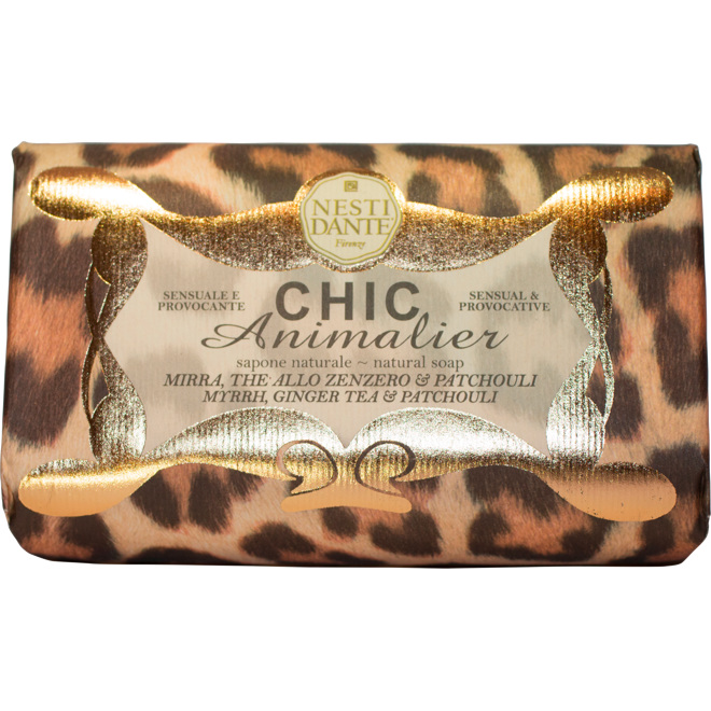 Chic Animalier Bronze Soap 250g