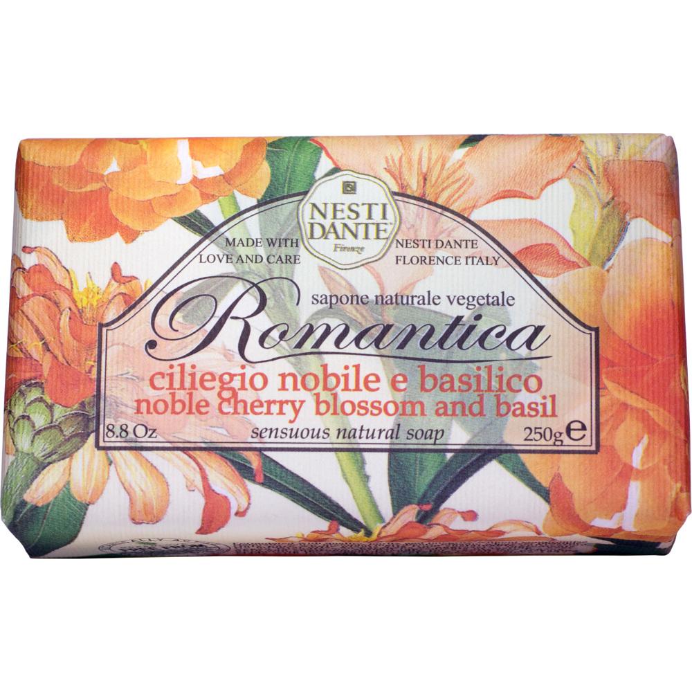 Romantica Noble Cherry Blossom & Basil Soap 250g