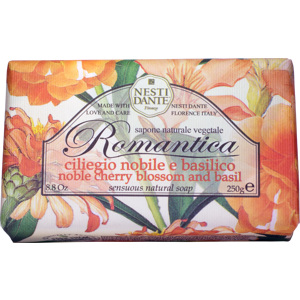Romantica Noble Cherry Blossom & Basil Soap 250g