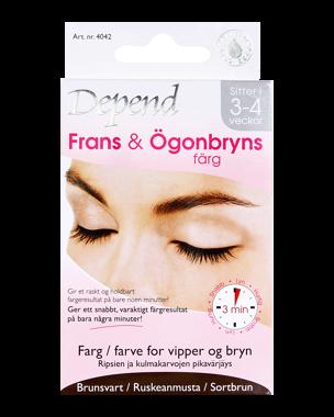 Frans & Ögonbrynsfärg