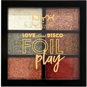 Love Lust & Disco Foil Play Cream Pigment Palette Get Do