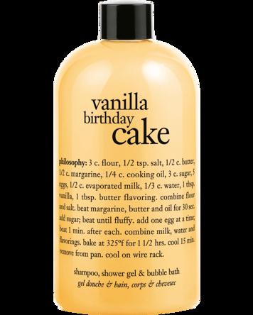 Bath & Body Shower Gel Vanilla Cake, 480ml