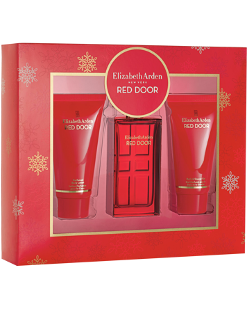 Red Door Set, EdT 30ml + 50ml Body Lotion + 50ml Shower Gel