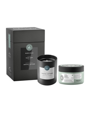 Soft Masque + Orchid Vetiver Candle Set