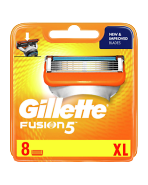 Gillette Fusion5 8-pack XL