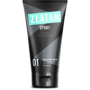 Zlatan Sport Hair & Body Wash, 150ml