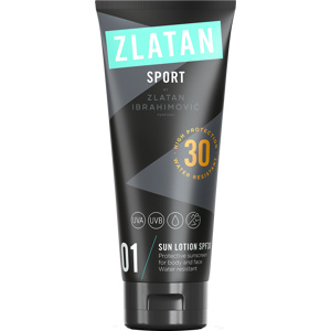 Zlatan Sport Sun Lotion Face & Body SPF30, 100ml