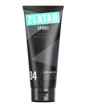 Zlatan Sport Styling Gel, 100ml