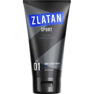 Zlatan Sport Pro Hair & Body Wash, 150ml
