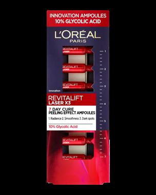 Revitalift Laser x 3 Ampoules, 7ml