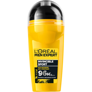 Deo 96H Invincible Sport Dry Non-Stop, Roll-on 50ml