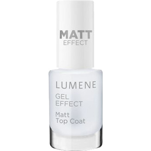 Gel Effect Matt Top Coat, 5ml