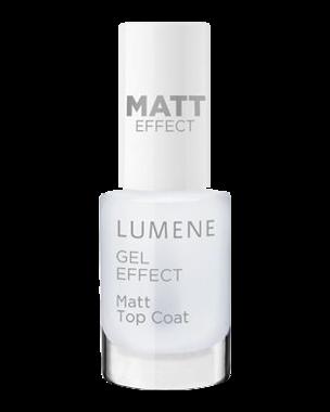 Gel Effect Matt Top Coat, 5ml