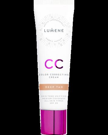 CC Color Correcting Cream, 30ml, Deep Tan
