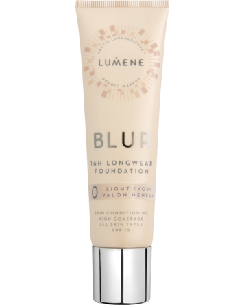 Longwear Blur Foundation SPF15, 30ml, 0 Light Ivory