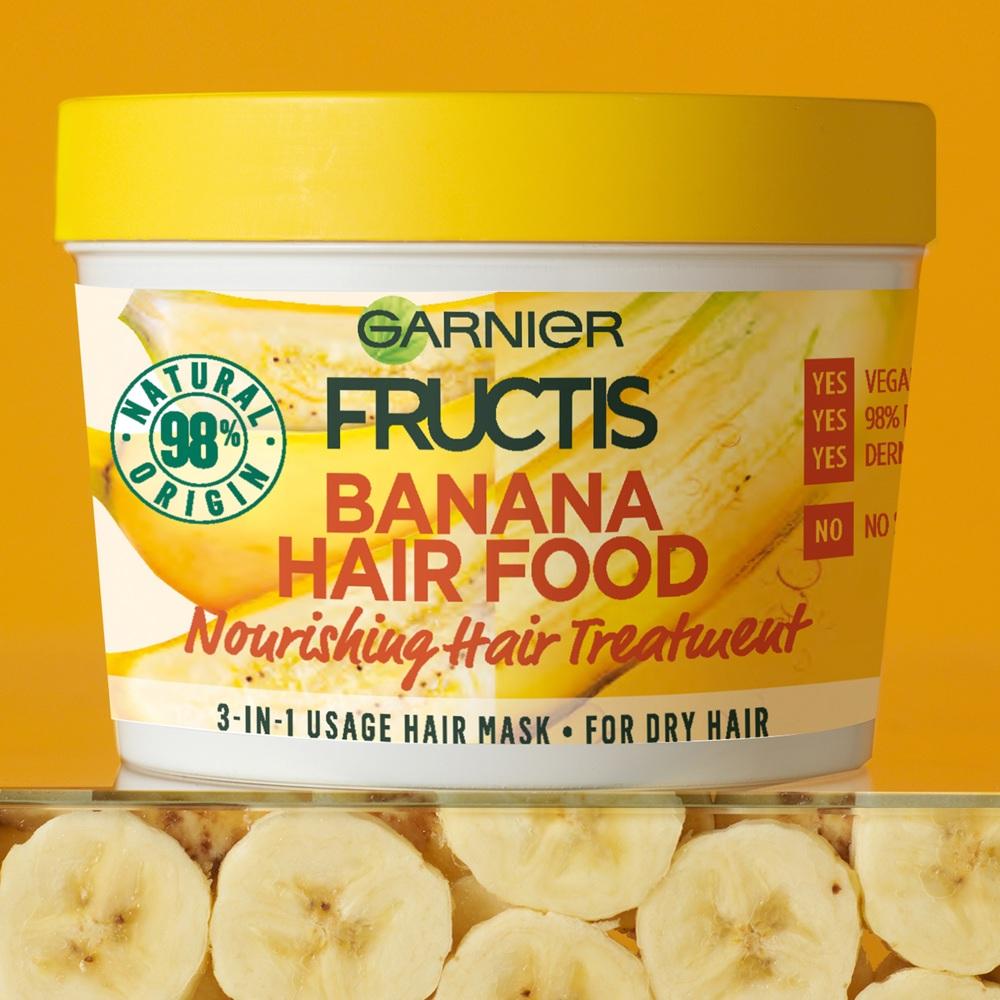 Hair Food Mask Banana , 390ml