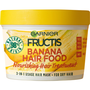 Hair Food Mask Banana , 390ml
