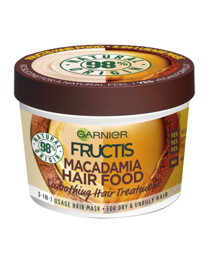 Hair Food Mask Macadamia, 390ml