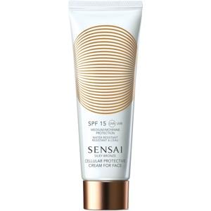 Silky Bronze Cellular Protective Cream for Face SPF15, 50ml
