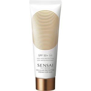 Silky Bronze Cream For Face SPF50+, 50ml