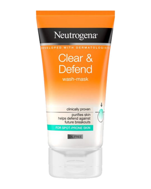 Clear & Defend Wash-Mask