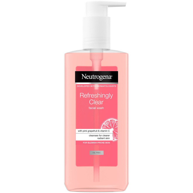 Refreshingly Clear Facial Wash, 200ml