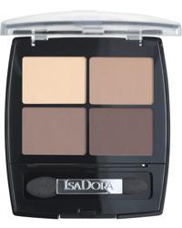 IsaDora Eye Shadow Quartet, 44 Muddy Nudes