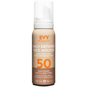 Daily Defence Face Mousse SPF50, 75 ml