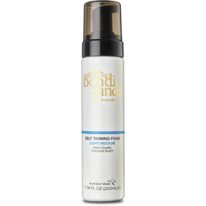 Self Tanning Foam Light Medium, 200ml