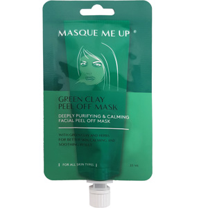 Green Clay Peel Off Mask, 20ml