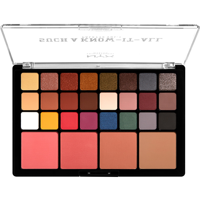 Such A Know-It-All Shadow Palette