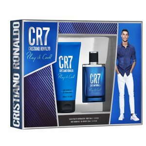 CR7 Play It Cool Set, EdT 30ml + Shower Gel 150ml
