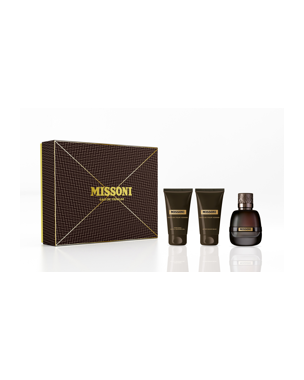 Missoni Pour Homme Set, EdP 50ml + 50ml SG + After Shave