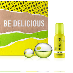 Be Delicious Gift Set, EdP 50ml + 7ml + Shower Mousse 100ml