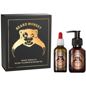 Sweet Tobacco Set, Beard Shampoo 100ml + Oil 50ml