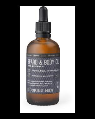 Ecooking Men Beard & Body Oil, 100ml