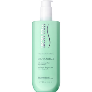 Biosource Purifying & Make-Up Removing Milk, 400ml