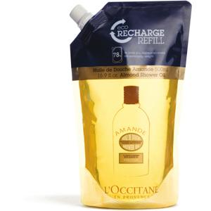 Almond Refill Shower Oil, 500ml