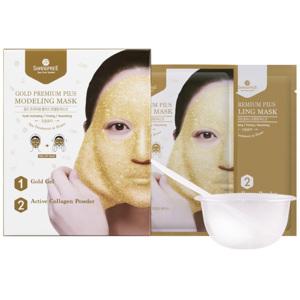 Gold Premium PLUS Modeling Mask (Inclu. Bowl & Spatula), 50m