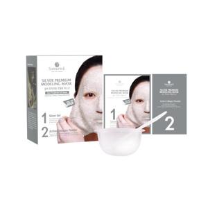 Silver Premium Modeling Mask (Inclu. Bowl & Spatula), 50ml