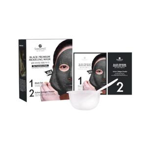 Black Premium Modeling Mask (Inclu. Bowl & Spatula), 50ml