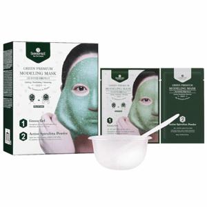 Green Premium Modeling Mask (Inclu. Bowl & Spatula), 50ml