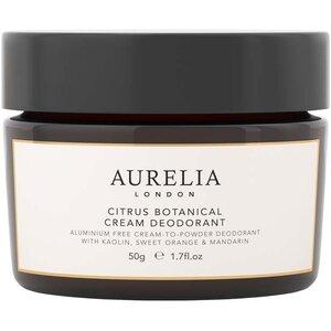 Citrus Botanical Cream Deodorant, 50g